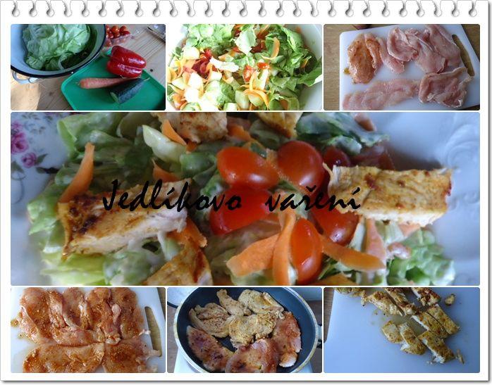 Jedlíkovo vaření: saláty
