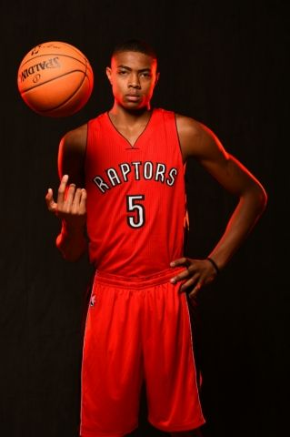 Check out more shots of Bruno Caboclo at the 2014 NBA Rookie Photo Shoot: http://on.nba.com/UWGoOC
