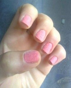 Nails princess peluche