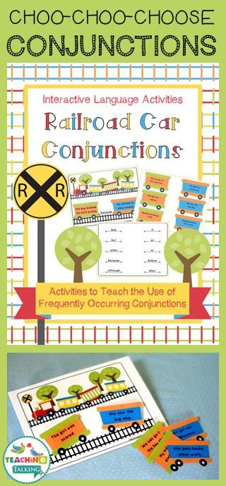 Conjunction Worksheets | Conjunction Lessons and ...