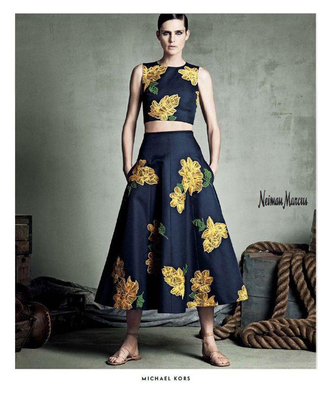 рекламная кампания от Neiman Marcus весна-лето 2015 под названием «Art of Fashion», лицом бренда стала британская модель Стелла Теннант (Stella Tennant), фотограф Luigi & Iango.