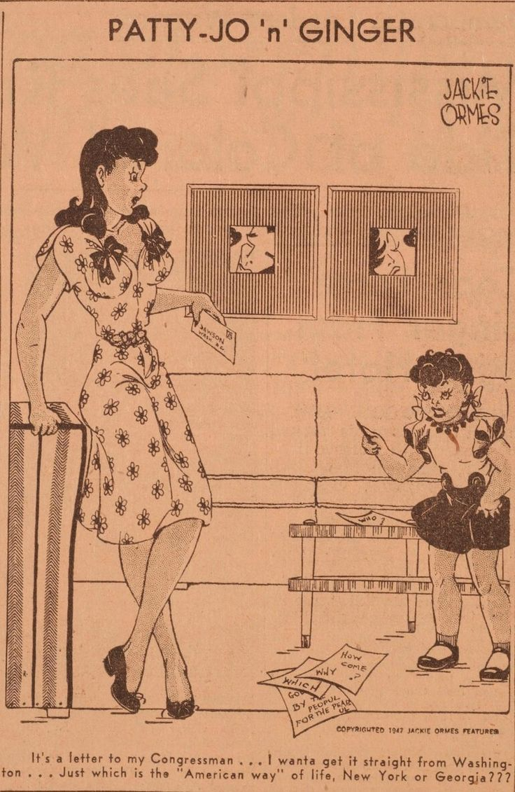 Patty jo n ginger by jackie ormes