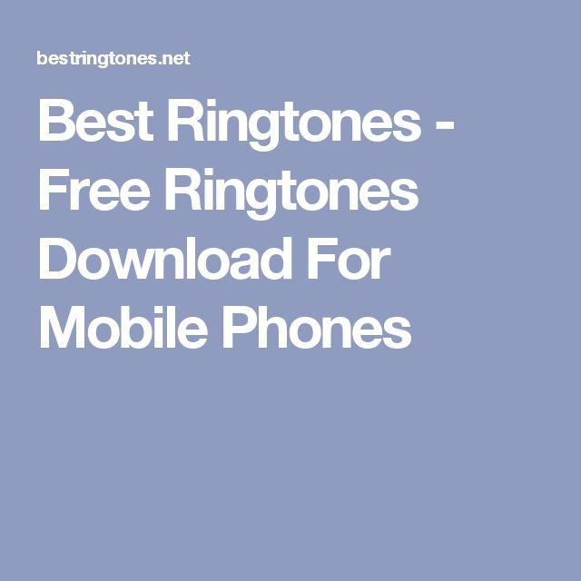 Best Ringtones - Free Ringtones Download For Mobile Phones