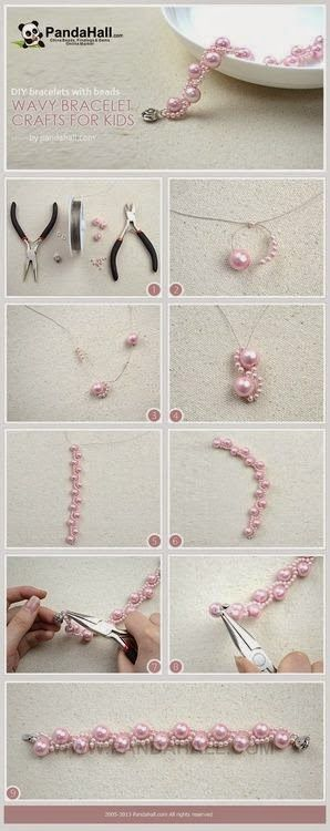 Tutoriales y DIYs: DIY - Pulsera de perlas