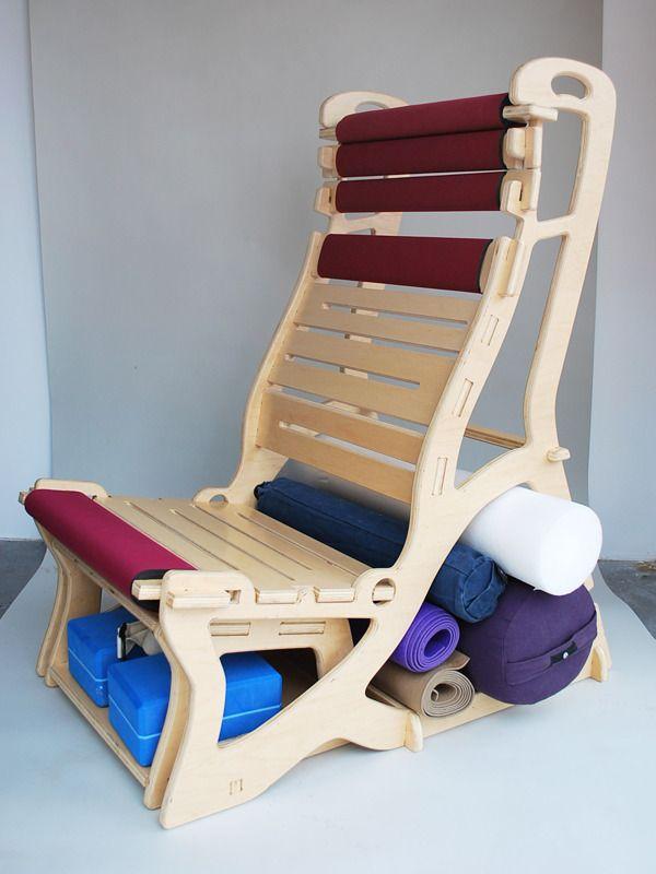 Antigravity Chair: flat pack yoga chair on Behance