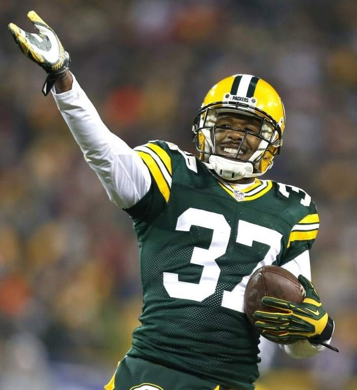 Sam Shields. Resigned with the Packers today! Four more years Baby!