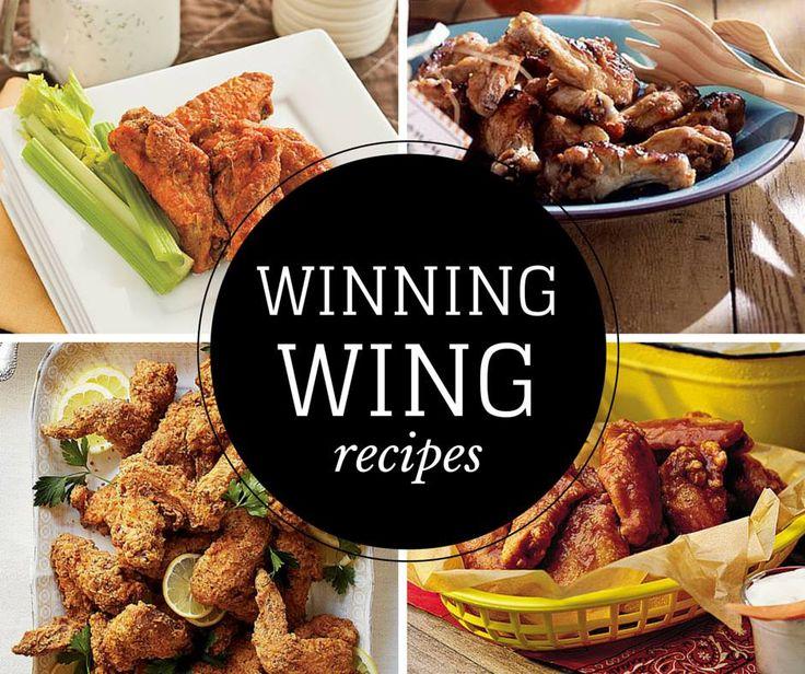 Winning Wing Recipes Southern Comfortsouthern Livingsouthern