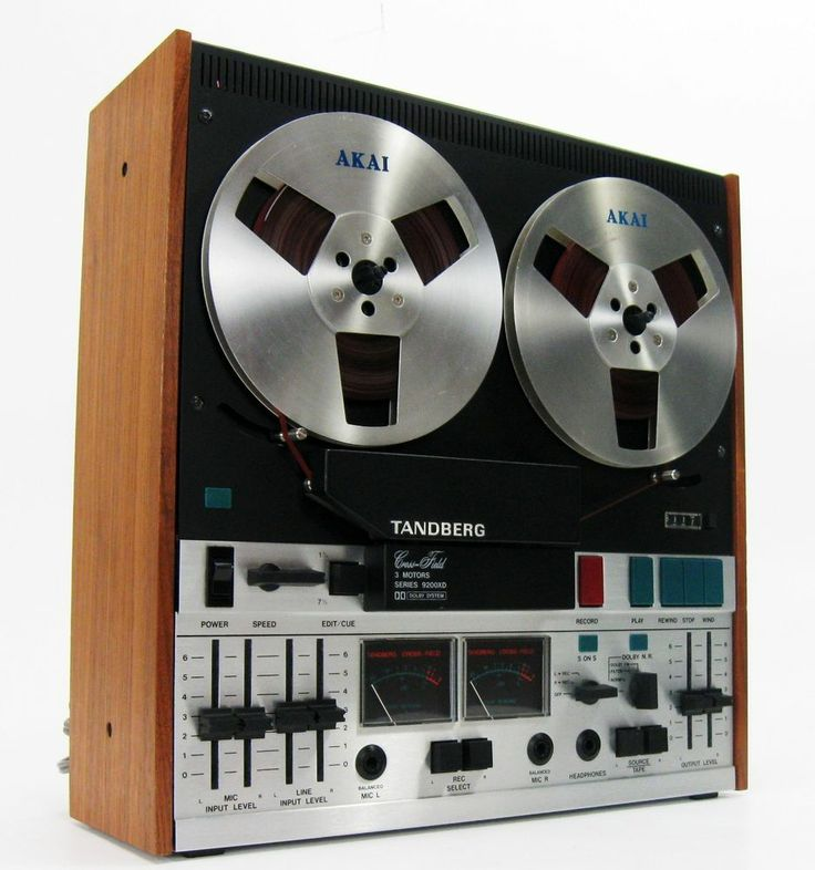 TANDBERG 9200XD REEL TO REEL DECK w DOLBY SOUND ON SOUND SERVICED * NICE! #Tandberg