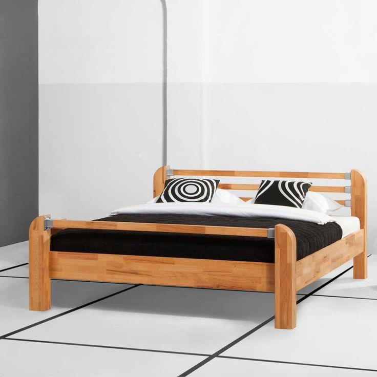 Pinterestu0027teki 25u0027den fazla en iyi Holzbett massiv fikri Massiv - schlafzimmer günstig online kaufen