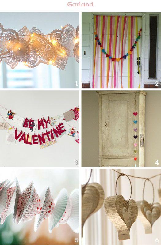 Valentine GarlandsValentine Day Ideas, Valentine'S Day, Paper Heart, String Lights, Valentine Ideas, Engagement Ring, Valentine Decor, Valentine Garlands, Parties Inspiration