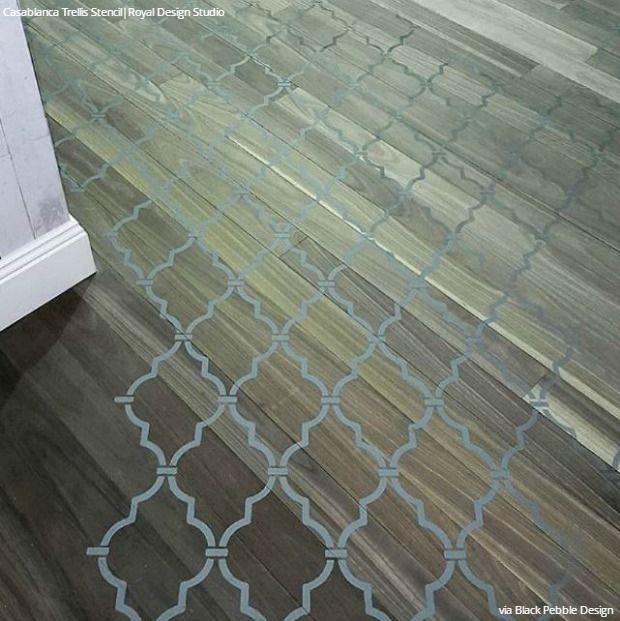 Painted Floor Designs 322 best stenciled & painted floors images on pinterest | floor