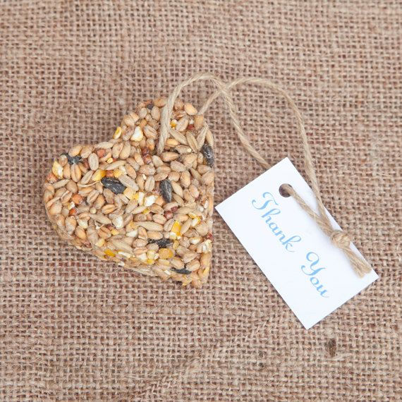 75 Bird Seed Wedding Favours by TinyBitMarvellous on Etsy, £105.00