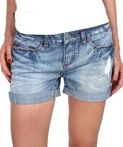 Korte Jeans Broek Dames.Licht Spijker Getinte Broek Korte Broek Denim Shorts Denim En