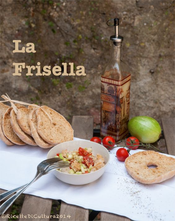 Ricette di Cultura: Le friselle, typical bread of South Italy