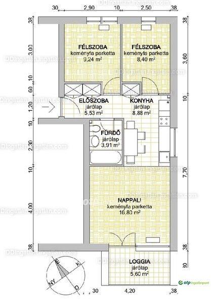 XII. kerületben, Zugligetben, kínáljuk megvételre ezt a valós 54 nm, 1+2 szobás, erkélyes, saját játszótérrel