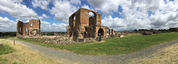 Villa of the Quantilii, een van de bezienswaardigheden langs de Via Appia Antica.