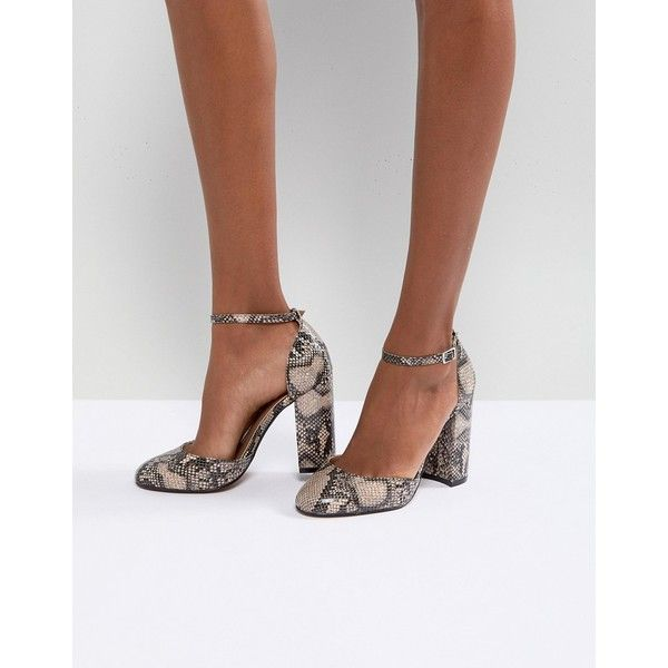 abf4d16848eb ASOS PRIYA Heels ( 46) ❤ liked on Polyvore featuring shoes