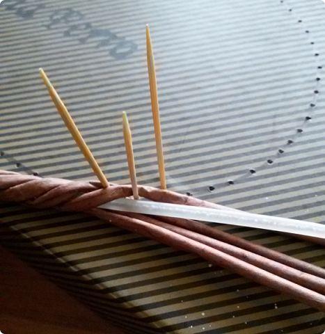 Здравствуйте, мои дорогие соседи! Выполняю обещание показать как я делаю витую ручку. фото 19