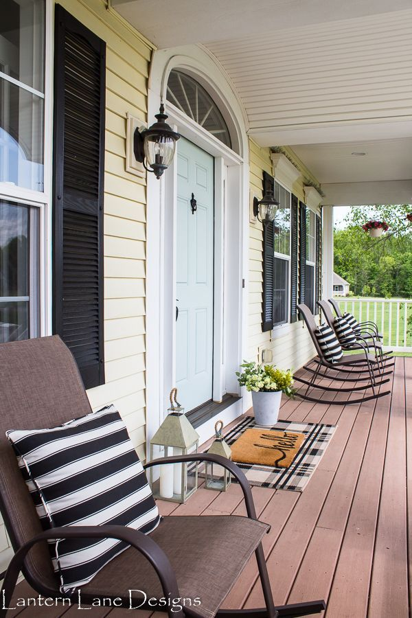 Outdoor Decor Ideas To Boost Your Home S Curb Appeal Diy Porch Decor Front Porch Decorating Porch Design