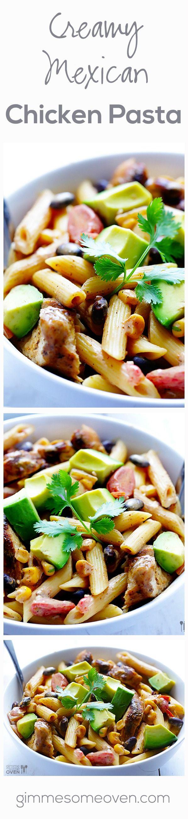 Mexican Chicken Pasta | Recipe | Mexican Chicken, Chicken Pasta and ...