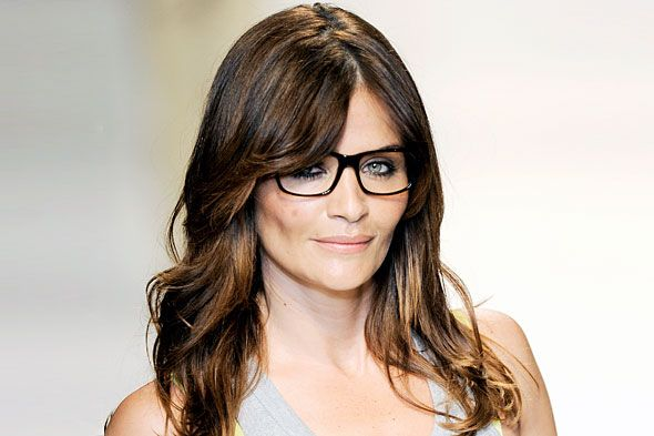 Even supermodels wear glasses. How amazing does Helena Christensen look in this pair?