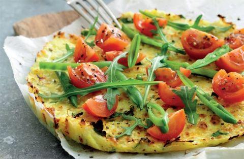 Blomkålspizza | Gratis opskrift på lækker 5:2 frokost