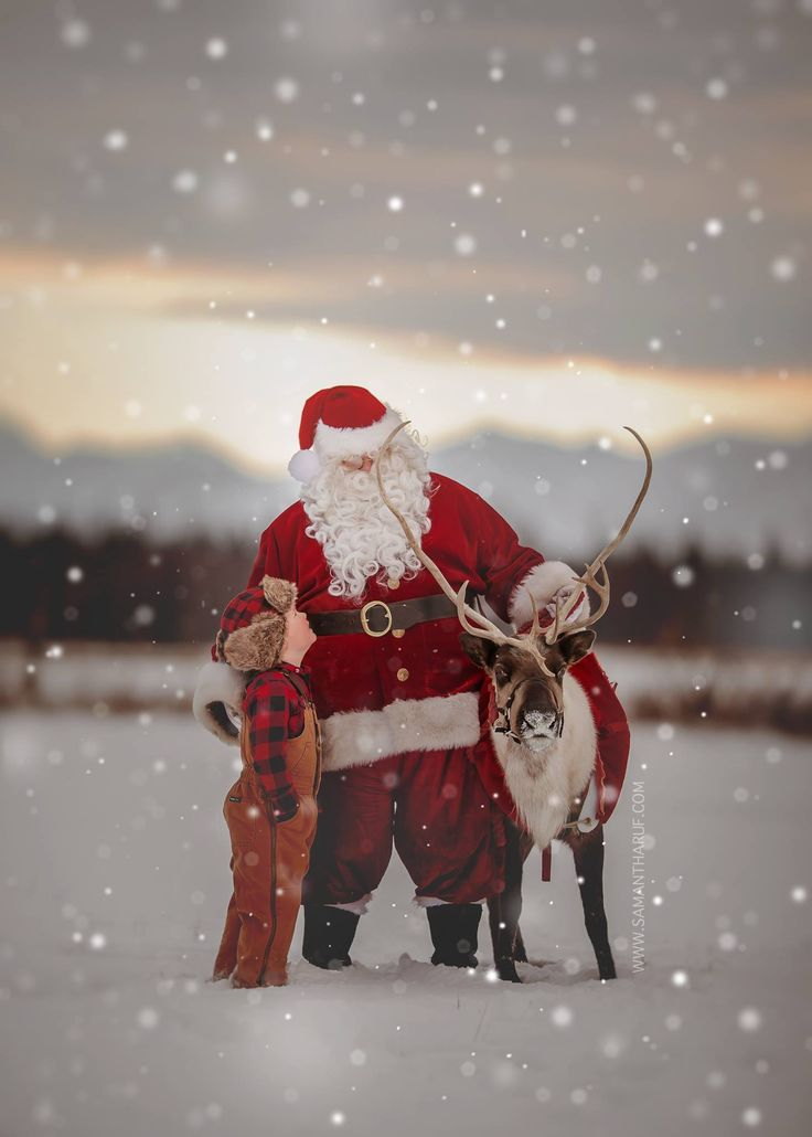 Winter Santa and Reindeer Photo sessions (November 19th)