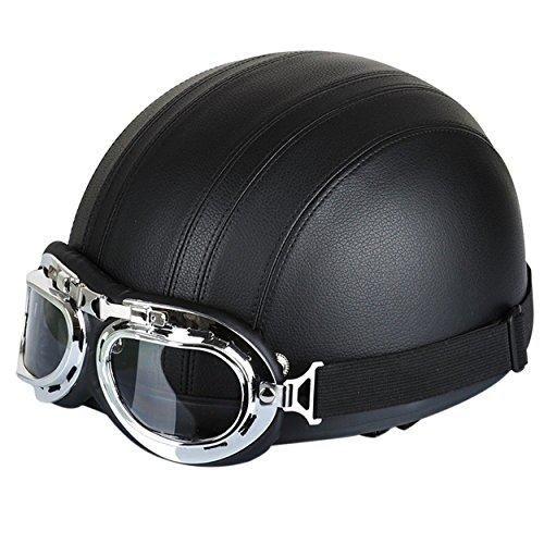Oferta: 21.99€ Dto: -21%. Comprar Ofertas de FuriAuto casco con gafas de motorista motocicleta crucero de casco de moto viseras proteccion UV barato. ¡Mira las ofertas!