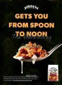 This poster fulfils the principle 'proximity'. The typography and picture of the spoon occupies almost the same amount of space of the poster. The text also relates to the spoon as it says 'Gets you from spoon to noon' which means a spoon of the product is able to last the customer a long time.