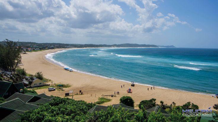 Ponta D'Ouro Coast in Mozambique
