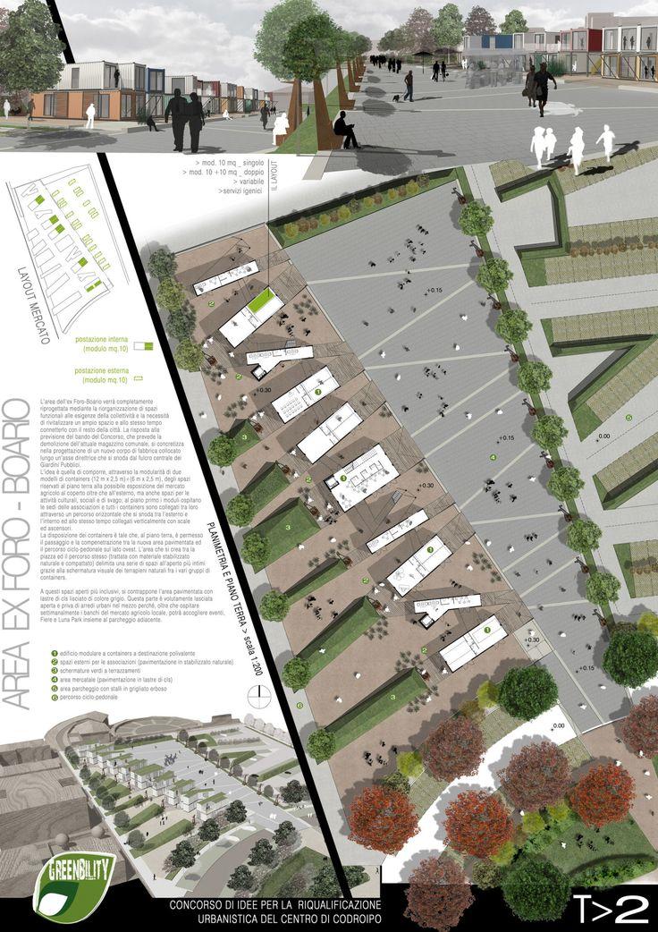 CHRISTIAN SANSON · Riqualificazione urbanistica delle aree centrali di Codroipo · Divisare
