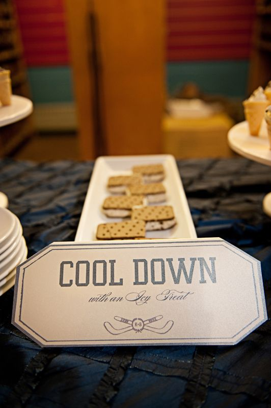 Ice Hockey Themed Wedding in Maryland | Washington DC Weddings, Maryand Weddings, Virginia Weddings :: United With Love™ :: Fresh Inspiration, Ideas and Vendors