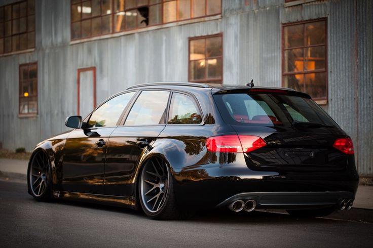 Slammed Audi...