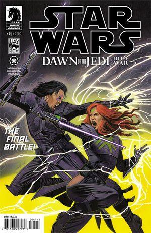 Star Wars: Dawn of the Jedi—Force War #5 :: Profile :: Dark Horse Comics