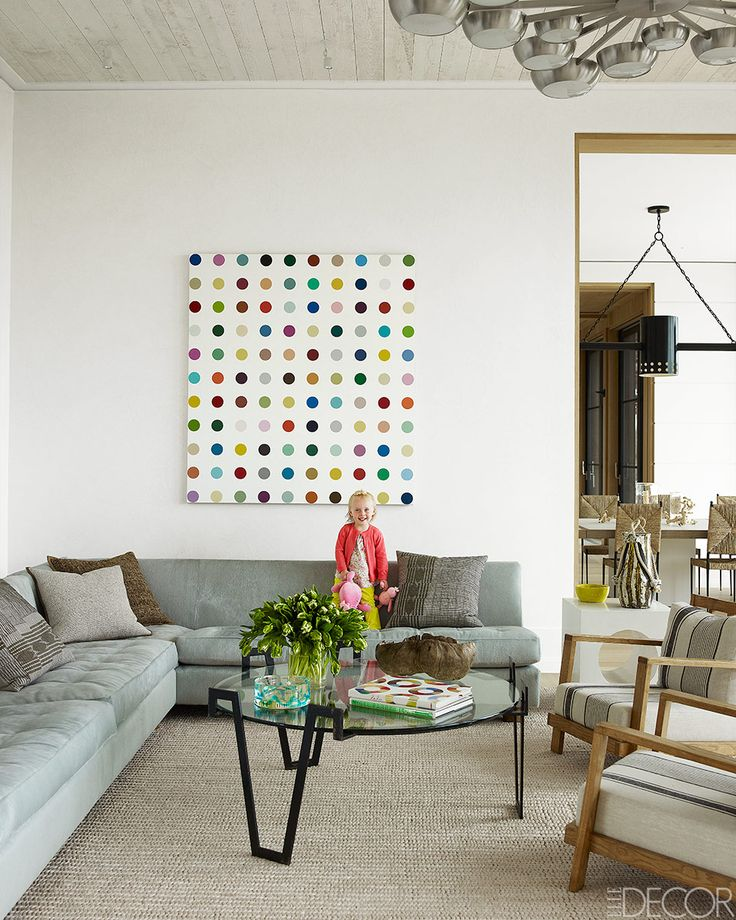 Luxuriate in the Living Room. A Southampton Beach House Interior Design: Haynes Roberts.