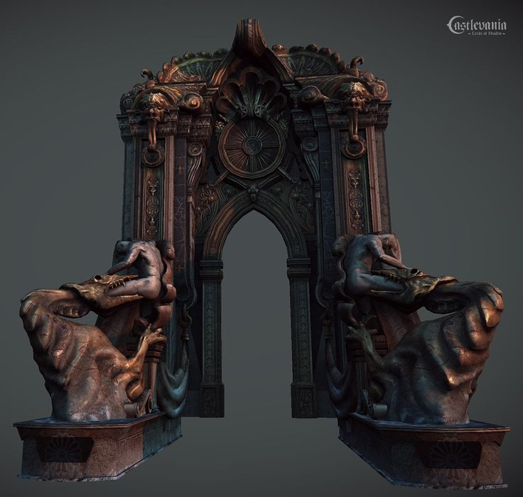 ArtStation - Castlevania: Lords of Shadow 1, Jose Grandal