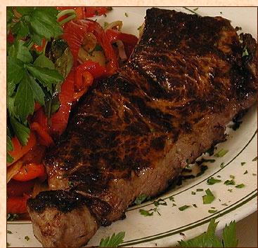 ... @ LeMaitreD.com ----- > ----- Tony's DiNapoli NY Broiled Steak