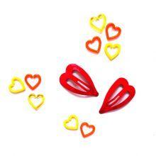 2+Κοκαλάκια+καρδιές+κόκκινο