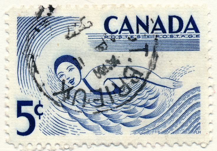 Outdoor recreation, Swimming (issued 1957)
