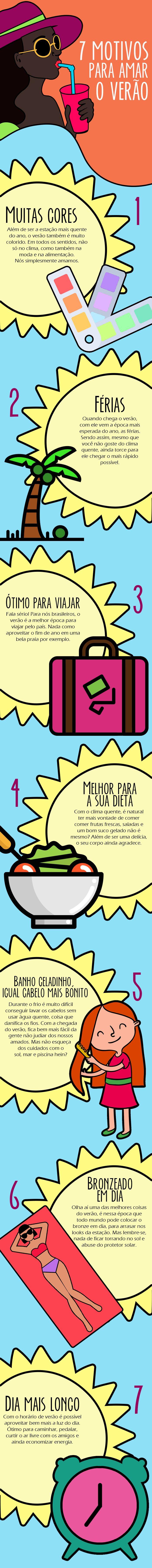 #SevenList #CabideColorido #Verão #Summer #Love