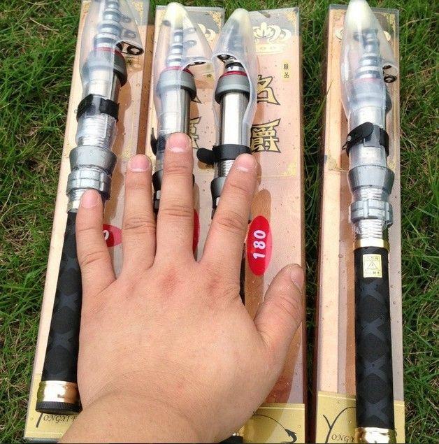 FREE SHIPPING 2.1m carbon fiber fishing rod carbon fishing pole telescopic fishing rod spinning rods portable Sea carp rods