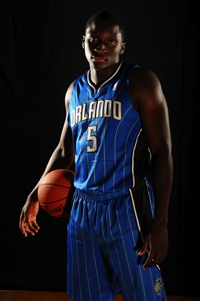 Victor Oladipo at Rookie Photo Shoot | THE OFFICIAL SITE OF THE ORLANDO MAGIC