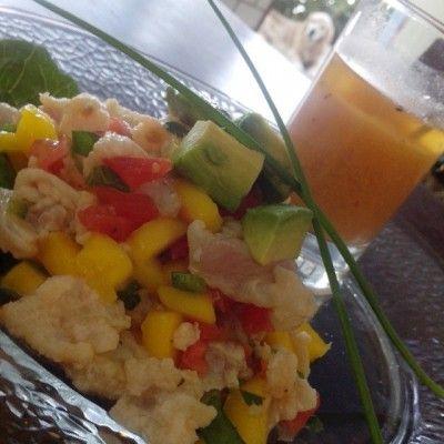 Ceviche de Pescado con Mango - Receta del Chef Ricardo Santana
