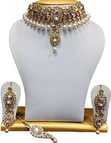 Wedding Party Wear Kundan Indian Bollywood White Pearl Go... https://www.amazon.com/dp/B06XXBSSG5/ref=cm_sw_r_pi_dp_x_Zuk-yb1KEZNGC