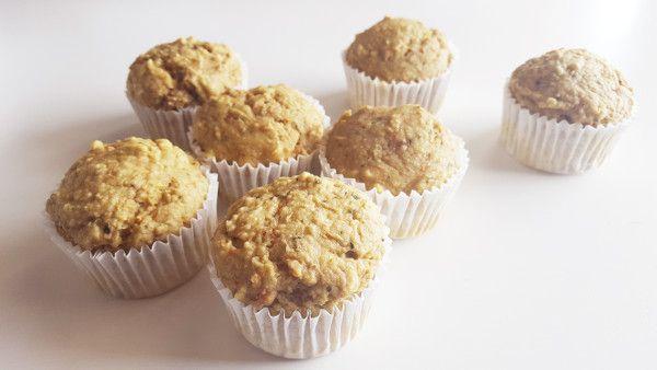muffins de calabacín y zanahoria