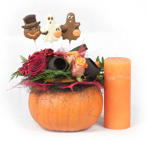 Słodka Halloweenowa dekoracja! #chocolissimo #halloween
