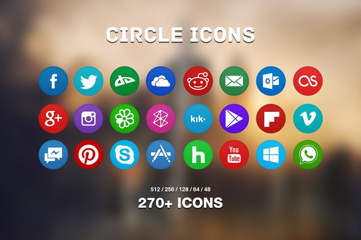 Circle Icons Pack by Martz90 ♥ Loved and pinned by www.mywebpeople.net