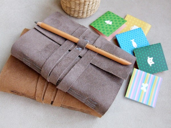 Handmade Suede Leather Cover Notebook Journal. $30.00, via ...
