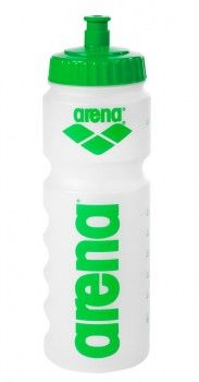 Arena Water Bottle - Clear / Green