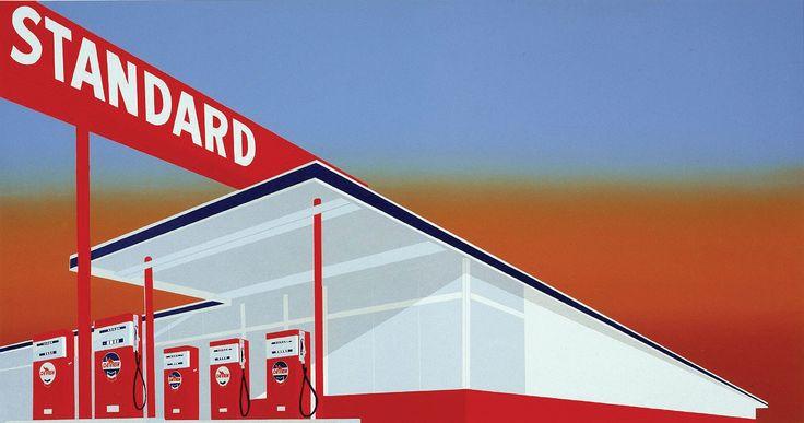 Standard Station Armarillo Texas, Ed Ruscha, 1966
